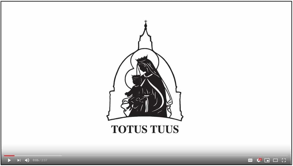 Click to view our Totus Tuus Video