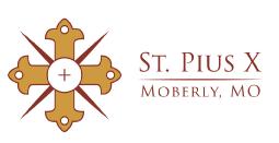 St Pius X Moberly Logo