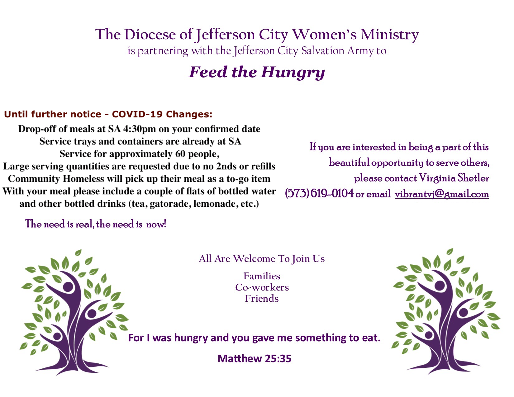 Great oppertunity to get involved in the Jefferson City Deanery