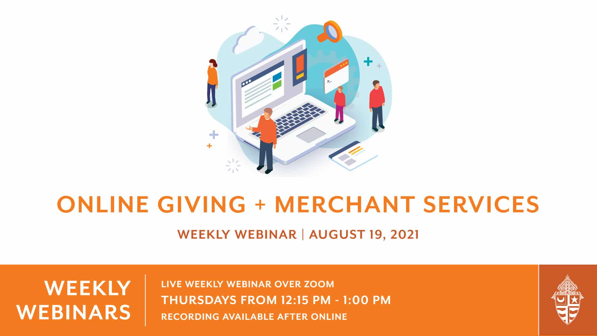 Weekly Webinar: Online Giving and Merchant Services