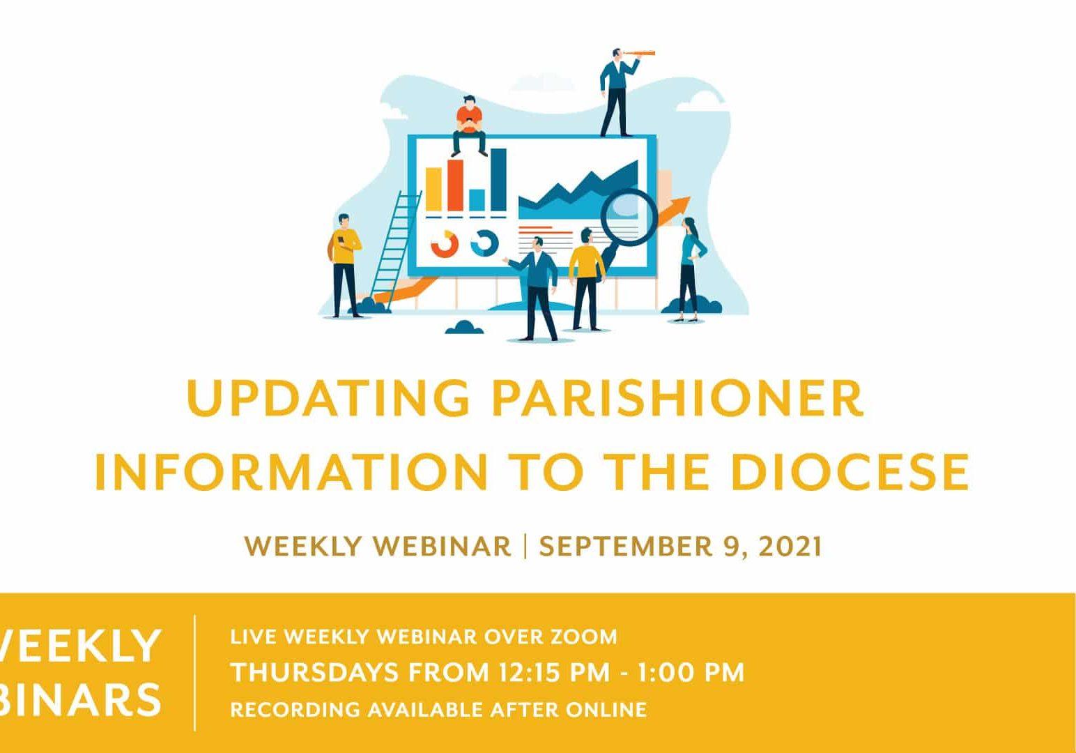 11 9 2021 Updating Parishioner Info