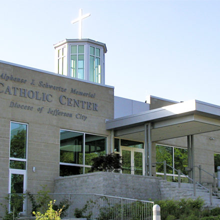 CHANCERY SERVICES: The Catholic Center in Jefferson City is the bishop's base of operations for ministries to parishes. Your gift helps cover services for employees and visitors to the Catholic Center, in addition to building and grounds maintenance.
