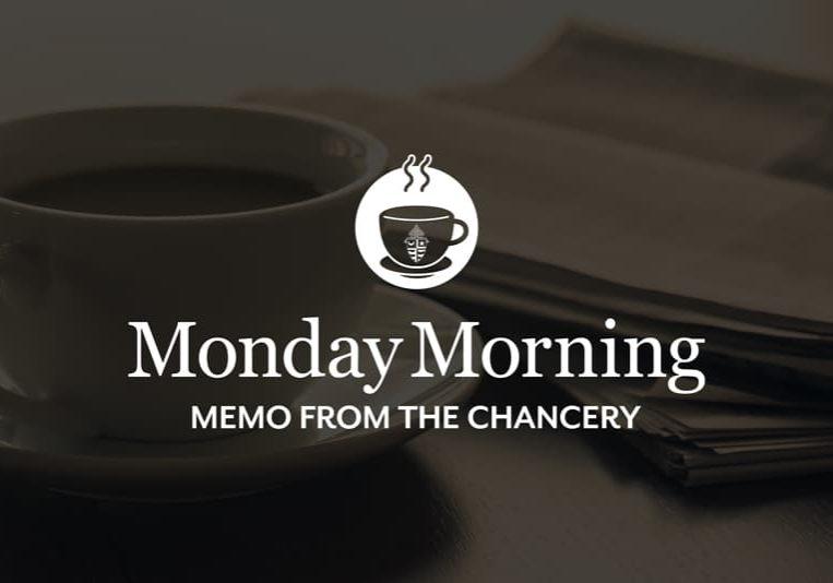 Monday Morning Memo Graphic